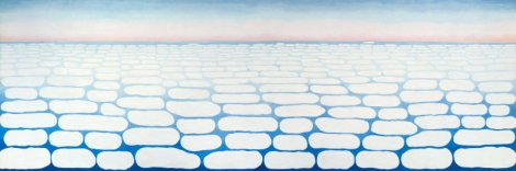 Sky above Clouds IV (1965). By Georgia O'Keeffe.
