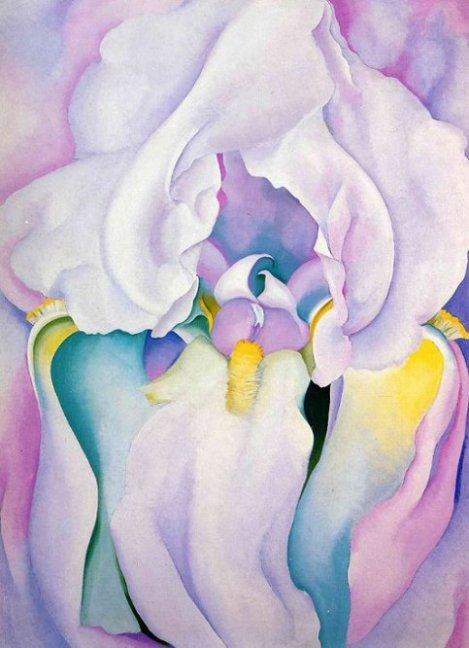Light of Iris (1924). By Georgia O'Keeffe.