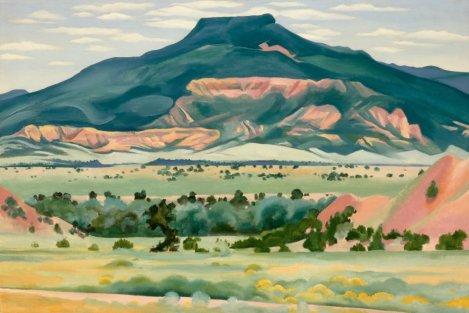 My Front Yard, Summer (1941). By Georgia O'Keeffe.