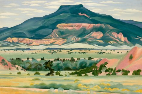 My Front Yard, Summer (1941). By Georgia O'Keeffe.