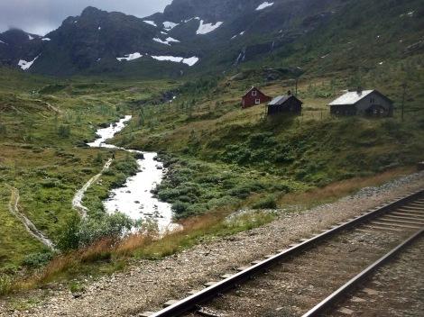 Bergen to Oslo train, Norway
