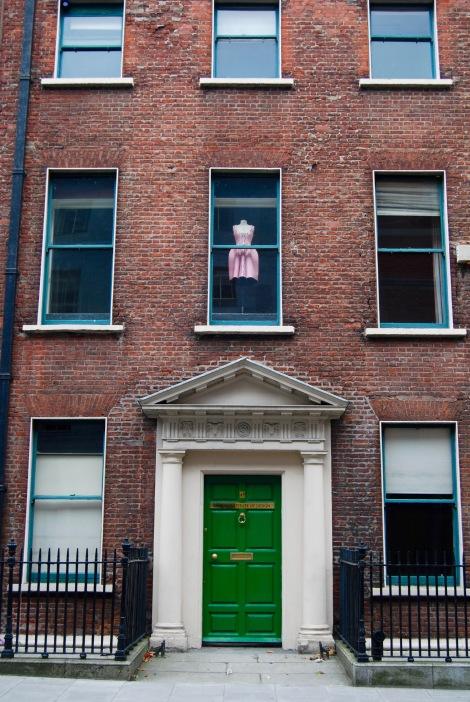 Dublin windows (August 2016). By Amy Feldtmann.
