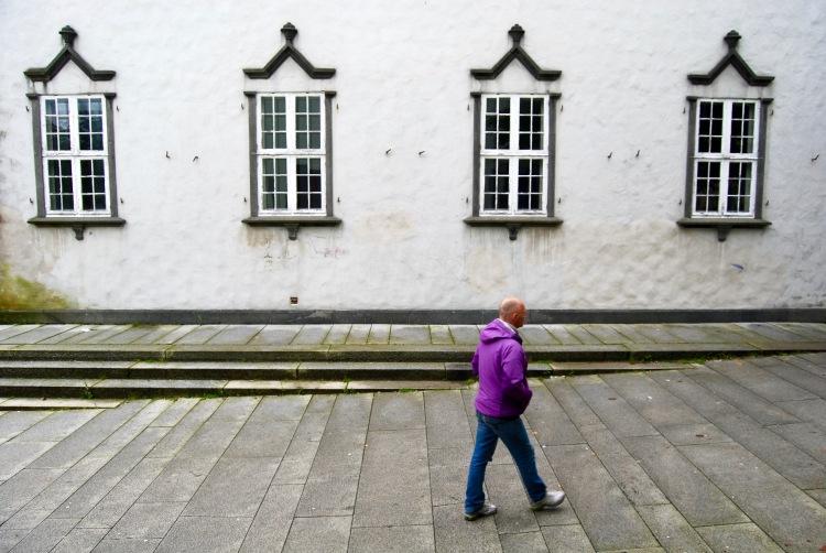 Bergen windows, Norway