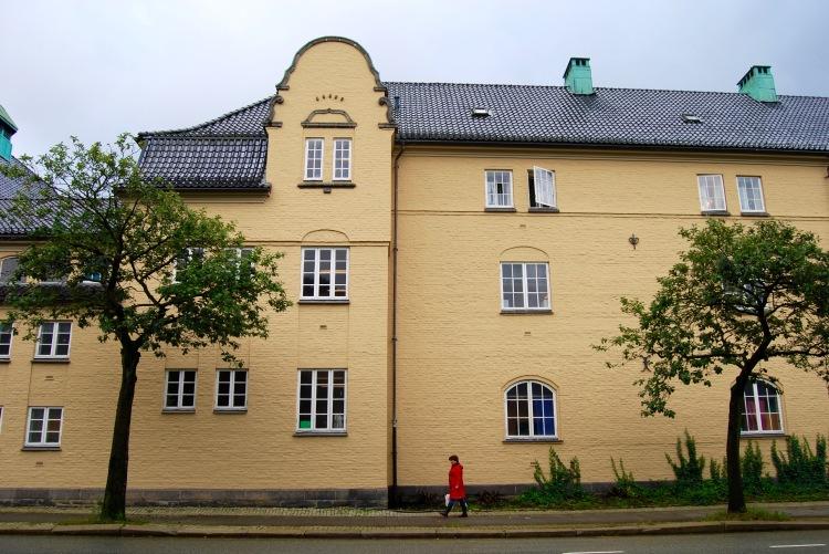 Buttercream Bergen windows