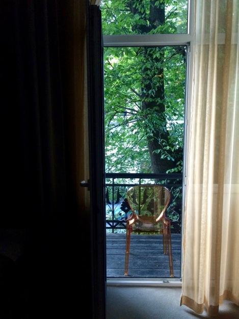 Oslo hotel windows, Norway
