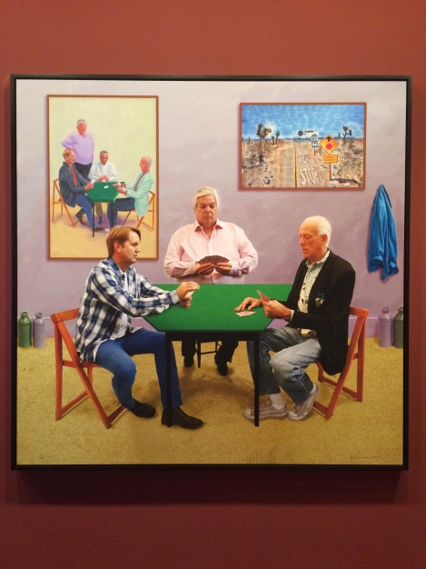 David Hockney 'Current' exhibition at National Gallery of Victoria, Melbourne