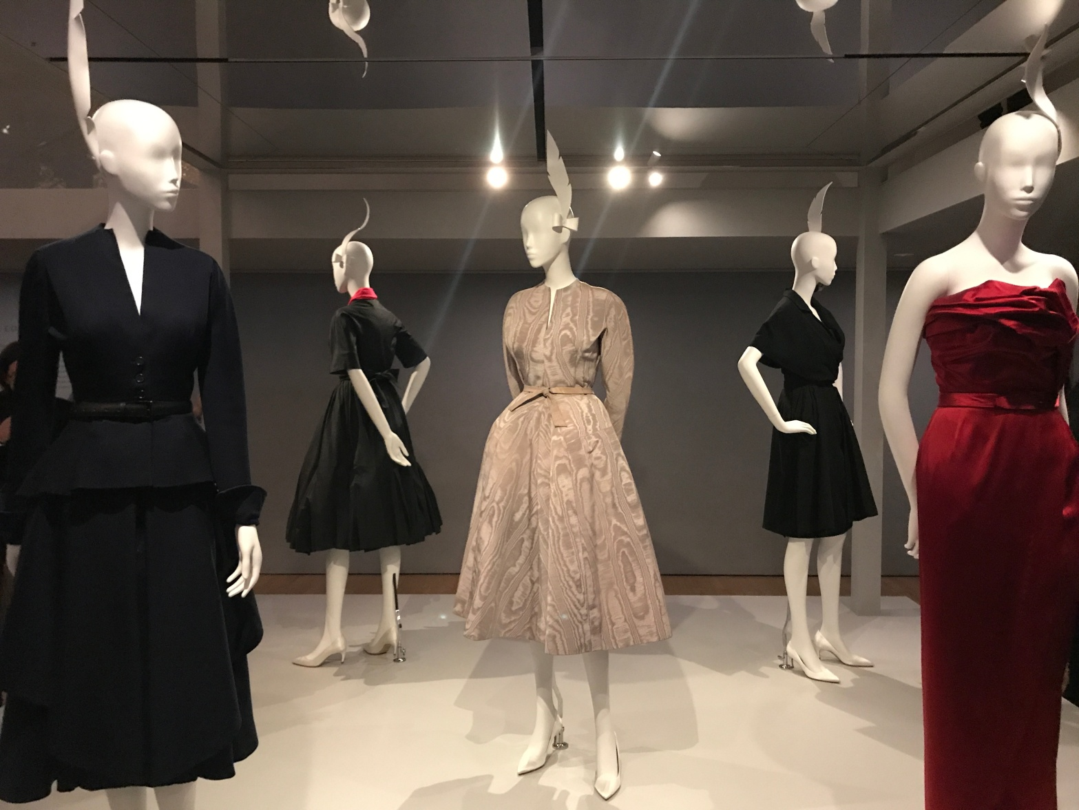 Christian Dior fashion dresses