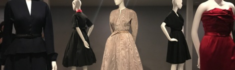 Christian Dior fashion dresses