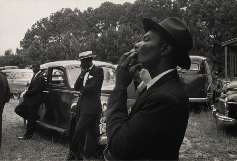 'Funeral – St. Helena, South Carolina', 1955. Photograph by Robert Frank.