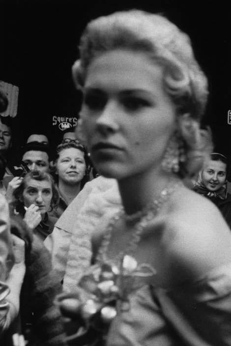 'Movie Premiere, Hollywood', 1955-56. Photograph by Robert Frank.